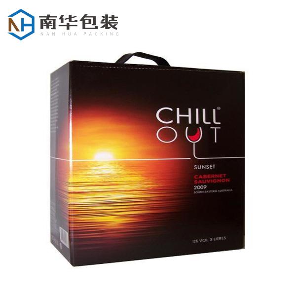 酒类包装盒展示